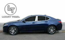 Acura TLX Stainless Steel Chrome Pillar Posts by Luxury Trims 2015-2017 (6pcs)