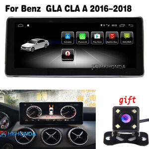 """2G Ram 10.25"""" Android 10 GPS Navigation for Benz GLA CLA A Class C117 2016-2017"""