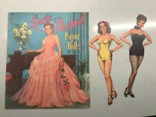 Linda Darnell Paper Dolls (Reproduction)