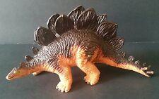 Stegosaurus Dinosaur Toy Solid Plastic Collectible Diorama Model Figure 1991