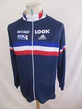 Maillot de cyclisme ADIDAS LOOK équipe de France Bastien MERLE Bleu Taille S