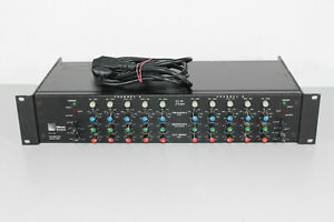 Meyer Sound CP-10 5-Band Stereo Parametric Equalizer (H19)