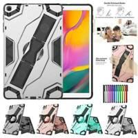 "For Samsung Galaxy Tab A/E/S3/S5e 7"" 8"" 10.1"" Heavy Duty Rugged TPU Case Cover"