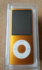 Apple iPod Nano 4th Generation Orange (8GB) Music MP3 player A1285