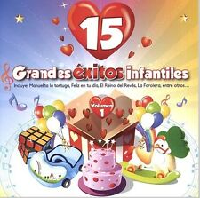GRANDES EXITOS INFANTILES VOL. 1 SEALED CD NEW SONGS FOR CHILDREN IN SPANISH