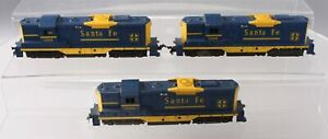 Lionel 0594 HO Vintage Santa Fe GP-9 Diesel Locomotives [3]