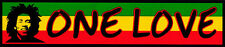 One Love - Magnetic Bumper Sticker / Decal Magnet