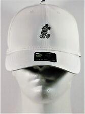 78c44ac2 Disney Parks Exclusive Mickey White Grey Logo Nike Dri Fit Baseball Golf Cap  Hat
