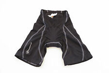 Cannondale Womens Black Padded Biking Shorts Size US P 0035