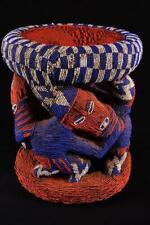 17711 Afrikanische Alte Bamun Hocher / Stool Kamerun