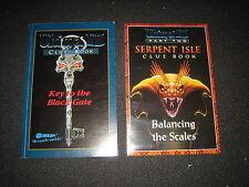 Ultima 7 Cluebook and Ultima 7 Part 2 Cluebook, by Origin. Sealed