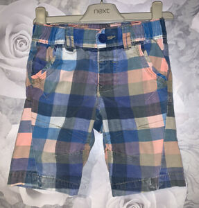 Boys Age 3 (2-3 Years) Next Checked Shorts