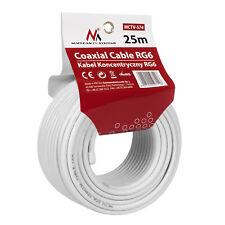 Blanc 4 paire câble téléphonique ccs//mètre cuivre en acier enduit pour systèmes de téléphone