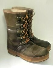 Hodgman Insulated C-84 Snow Work Farm Fishing Hunting Boots Size 9 STEEL SHANK