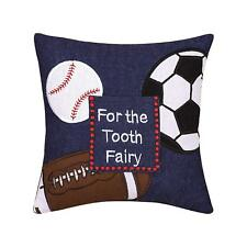 MY TOOTH FAIRY PILLOW : BOYS SPORTS BALLS with POCKET