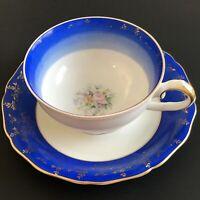 Vintage JOHANN HAVILAND Porcelain Tea Coffee Cup & Saucer BAVARIA Germany W02002