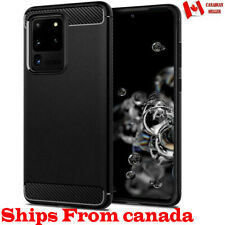 For Samsung Galaxy S20 FE Ultra S20+ Plus Case Heavy Duty Carbon Slim Cover