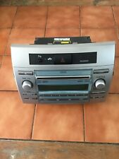 TOYOTA COROLLA VERSO RADIO/CD PLAYER (W53825) TO FIT 2006-2008