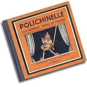 PUNCH 1929, POLICHINELLE PULCINELLA KASPERLE Old nursery songs of France