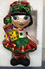 "6.5"" Tonner ""Sew Happy Christmas"" Amelia Thimble Ornament Mint W/ Box"