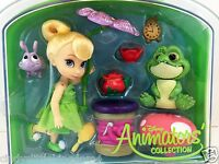 New Disney Store Tinkerbell Mini Animator Doll Playset & Accessories