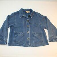 Double D Ranchwear Women's Denim Jacket Size S Made in Texas