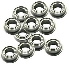 "AHZ R/C Metal Shield Flanged Bearings 3/16x5/16x1/8"" (10pcs) FR156ZZ"