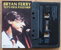 BRYAN FERRY - LET'S STICK TOGETHER (EGMC 24) UK CASSETTE TAPE REISSUE 1980s
