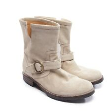 FIORENTINI BAKER Stiefeletten Gr. EUR 39 Beige Damen Schuhe Boots Shoes Suede