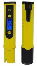 PH-MISURATORE TESTER ELETTRODO/SONDA LCD-DISPLAY HOLD-FUNZIONE ANTISPRUZZO P30