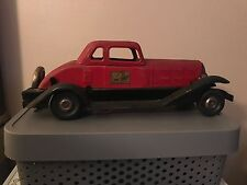 Vintage Hoge Fire Chief Car (Red), Fair Condition