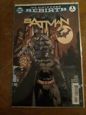 Batman #1 (2016) Rebirth Finch Cover 1St Print Gotham Girl