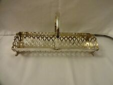 Vintage Yeoman Silver Plated Biscuit/Cracker Basket