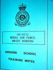 BRITANNIA EQUIPMENT TRAINING NOTES