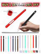 Silicone Case for Apple Pencil 1st 2nd Gen iPencil 2 1 Grip Skin Cover Holder