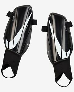 Nike Charge Football Shin Guards Pads Mens Black/White in Large NEW SP2164-010