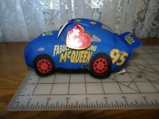 TY Beanie Babies Disney Pixar Cars - Blue Fabulous McQueen Plush Stuffed Toy