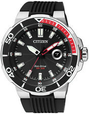 Citizen Eco-drive Divers 200m Aw1420-04e Mens Watch