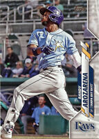 Randy Arozarena Rookie 2020 Topps Update #U-208 Base MLB Rays Baseball Card