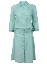 Cotton Midi Floral Shirt Dresses for Women