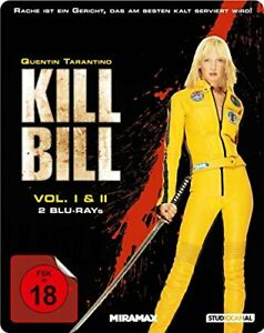 KILL BILL 1 & 2 - Blu-Ray Steelbook (Import)