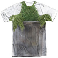 Authentic Sesame Street TV show Oscar Costume Sublimation Allover Front T-shirt