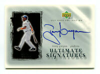 TONY GWYNN 2001 UD Upper Deck Ultimate Collection Signatures Silver Auto 23/24