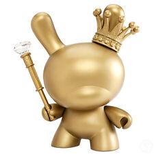 "Kidrobot 8"" Gold King Dunny by Tristan Eaton | Designer Art Toy Vinyl Figure"