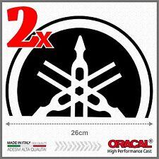 2x Black Yamaha Tmax 01-07 BIG Diapason Scudo ADESIVI PEGATINA STICKERS