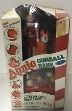 Annie Gumball Bank 1982  Buy Arrow Industries Inc. Sealed In Package