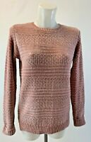 Ladies New Ex Debenhams Lurex  Jumper  Size  8 10 12 14 16 18 20 22
