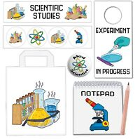 6 Science Themed Party Bags With Fillers Boys Girls Kids Birthday Events