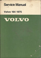 1975 Volvo 164 Shop Manual Original Dealer OEM Reparatur Service Factory Buch