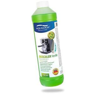 Aqualogis Verde Universal Coffee Machine Liquid / Fluid Descaler- 750ml